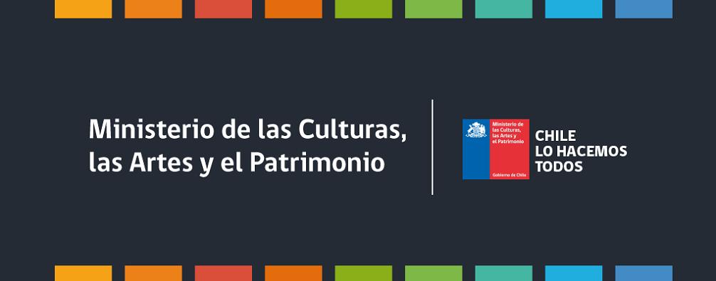 Logotipo Ministerio de las Culturas, las Ares y el Patrimonio